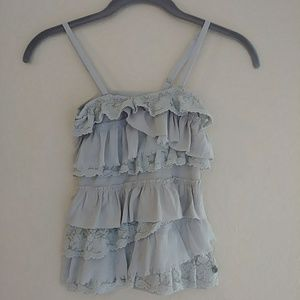 👯 Abercrombie kids Tier layered camisole